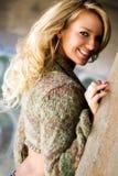Girl - Blonde Fashion Model Royalty Free Stock Image