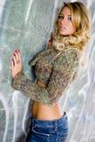Sexy Girl - Blonde Fashion Model Royalty Free Stock Photos