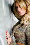Girl Blonde Fashion Model Royalty Free Stock Image