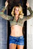 Sexy Girl Blonde Female Model Stock Photos