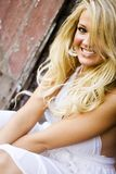 Sexy Girl Blonde Female Model Royalty Free Stock Photo