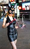 Sexy girl in costume of rabit Stock Image