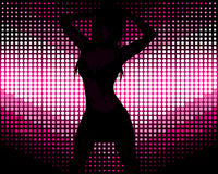 Sexy Girl Dancing Royalty Free Stock Image