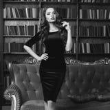 Sexy girl in dress Stock Photos