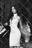 Sexy girl in dress Stock Photo