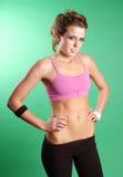 Sexy girl exercising Stock Photo