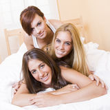 Sexy girl group Royalty Free Stock Image
