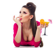 Sexy cocktail Stock Photo