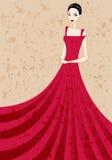 girl illustration Stock Image