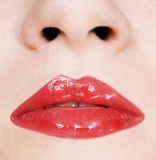 girl lips Royalty Free Stock Photography