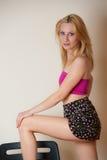 Sexy Girl Posing Stock Photos