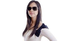 Sexy girl wearing sunglasses Royalty Free Stock Photo