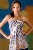 Sexy girl woman fashion model bruneete Stock Image