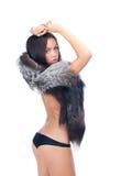Sexy go go dancer Stock Images