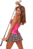 Sexy Golfer Royalty Free Stock Images