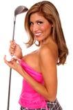 Sexy Golfer Royalty Free Stock Image