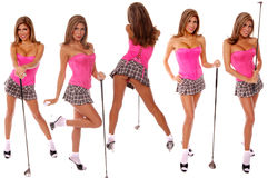 Sexy Golfer Royalty Free Stock Image