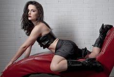 Sexy Goth Royalty Free Stock Photos