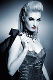 gothic woman Stock Image