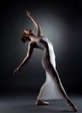 Sexy graceful ballerina posing in studio Stock Photo
