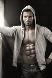 Sexy guy with abs Royalty Free Stock Photo
