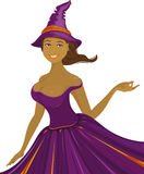 Sexy halloween witch Royalty Free Stock Photo