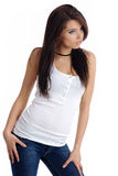 Sexy happy girl in blue jeans Stock Photography