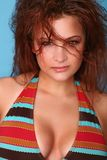 Headshot of Bikini Model stock photography