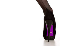 Sexy high heel shoes Royalty Free Stock Images