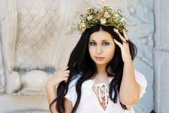 Sexy Hispanic woman princess Royalty Free Stock Photography