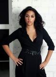 Sexy hot brunette Stock Photo
