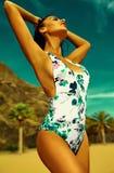 Sexy hot model in bikini Stock Image