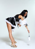 Sexy housework woman Royalty Free Stock Images