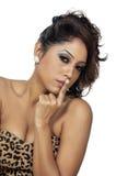 Sexy indisches Mädchen Stockfoto