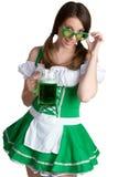 Sexy Irish Girl. Sexy Irish St Patricks day girl Stock Photography