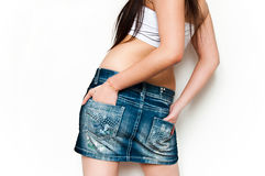 Sexy jeans Royalty Free Stock Images