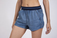 Sexy jeans summer shorts Stock Photos