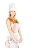 Sexy jong vrouwenmeisje Stock Fotografie