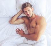 Sexy jonge mens Stock Afbeelding