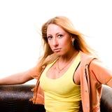 Sexy jonge vrouw royalty-vrije stock fotografie