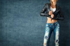 Sexy junge Frau Lizenzfreies Stockfoto