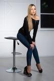 Sexy junge Frau Lizenzfreie Stockbilder