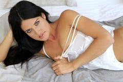 Sexy junge Frau Stockbild