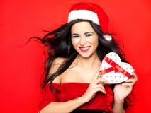 Sexy Kerstman royalty-vrije stock foto