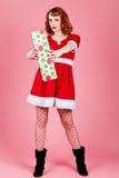 Sexy Kerstman Royalty-vrije Stock Fotografie
