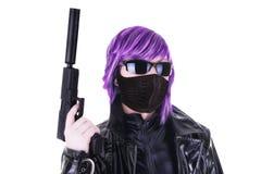 Sexy killer Stock Image