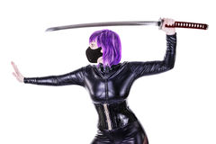 Sexy killer Royalty Free Stock Photo