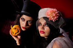 ladies vampire Royalty Free Stock Photo