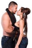 Sexy Latijns paar. royalty-vrije stock fotografie