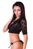 Sexy Latin model. Stock Photo